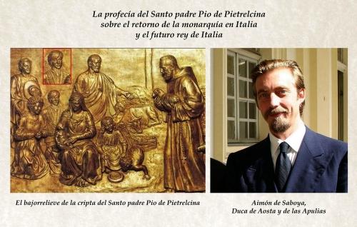 Aimón de Saboya y el bajorrelieve de la Cripta del Padre Pio_01