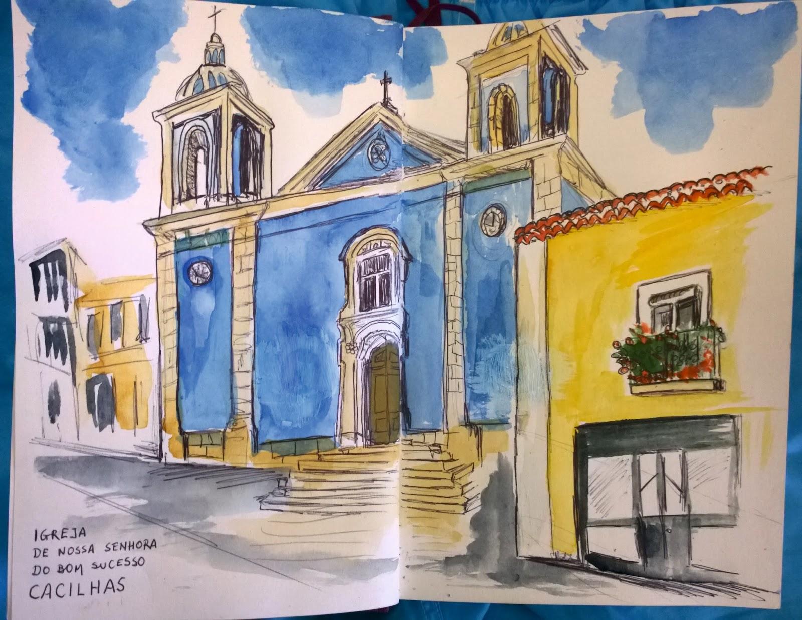 Nuestra Señora del Buen Suceso, Protegió a Cacilhas del Tsunami, Portugal (1 nov)