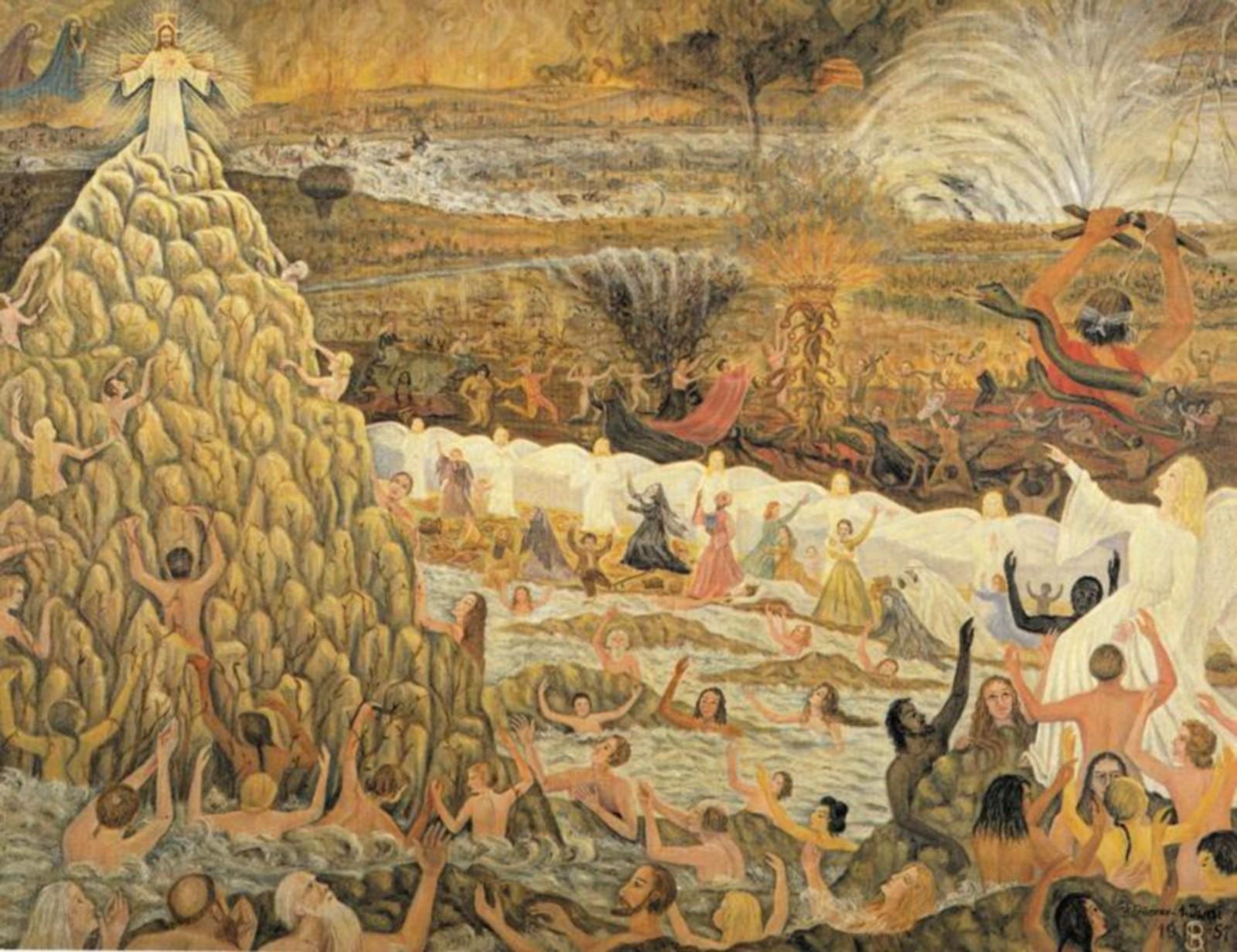 Las Profecías para la Humanidad de María Magdalena Hafenscheer