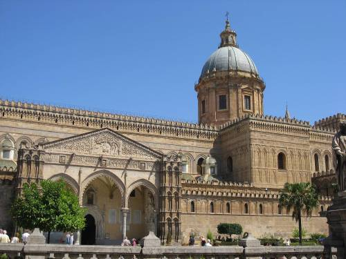 Palermo-cathedral-front