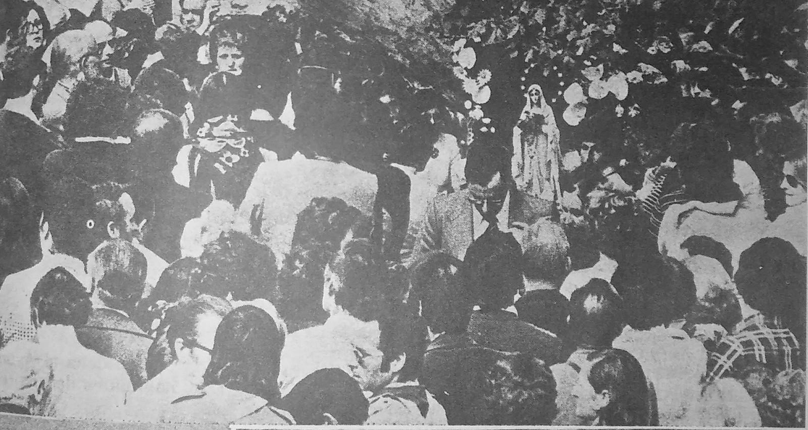 Aparición de la Virgen de Lourdes de Can Cerdà en Cataluña, España (11 nov)