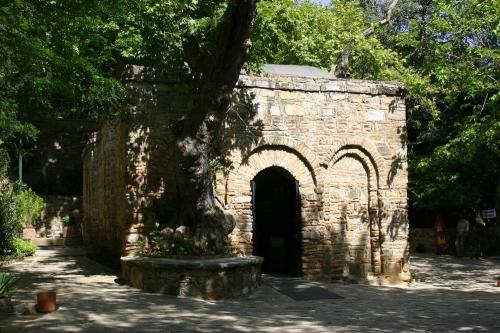 casa de la virgen maria en efeso
