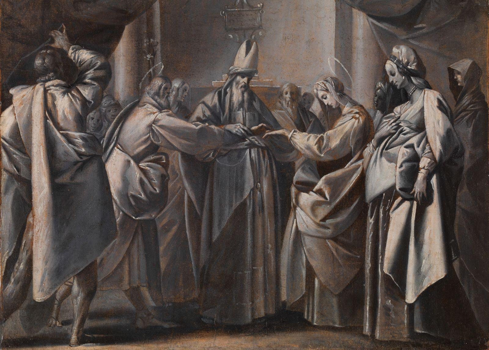 Visiones Sobrenaturales de la Boda de la Santísima Virgen con San José