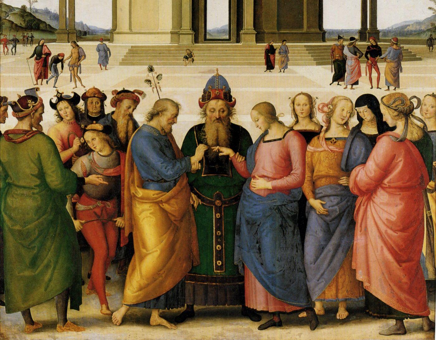 Jesus Matrimonio Biblia : Las particularidades del matrimonio de josé y maría foros de la