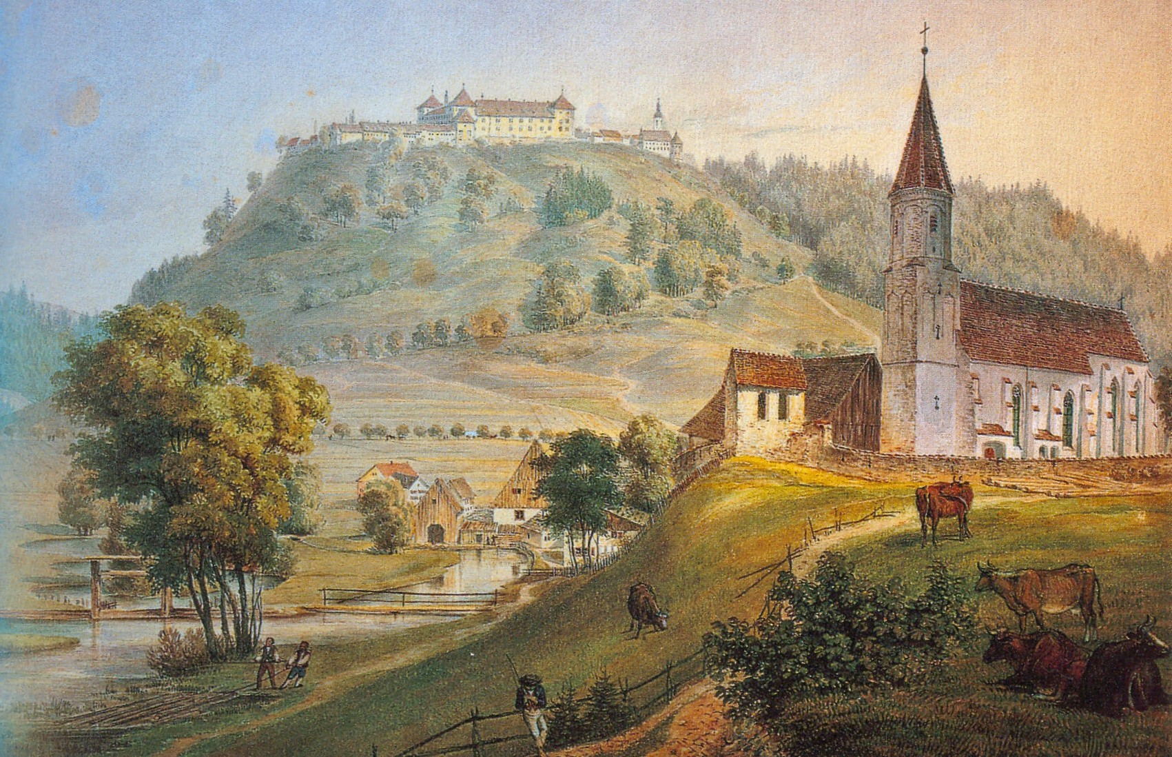 Nuestra Señora de Lourdes de Kirchdorf, Fantástica Curación y Mensajes, Austria (18 nov)