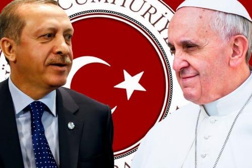 erdogan y papa francisco