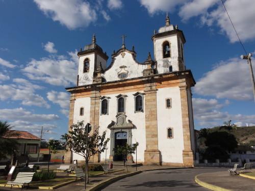iglesia de caeté buen suceso brasil fondo