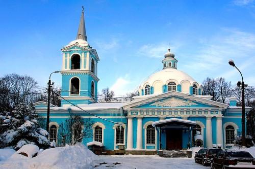 iglesia de smolensk en san petersburgo