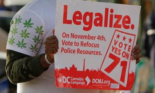 legalizacion de la marihuana en DC