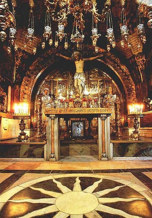 lugar del calvario de jesus hoy dia