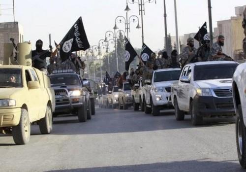 marcha del estado islamico