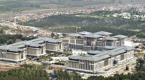 palacio presidencial de ankara