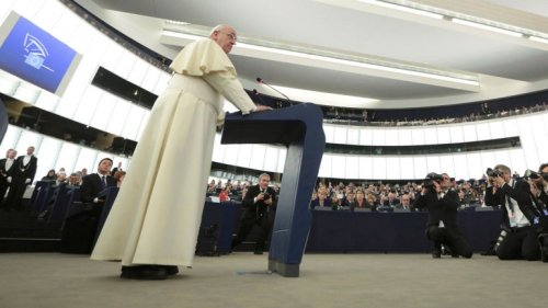 papa francisco parlamento europeo
