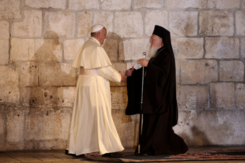 papa francisco y patriarca bartolome