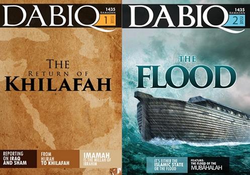 portada de revista dabiq