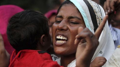 protestas en pakistan