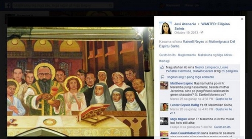 se buscan santos filipinos