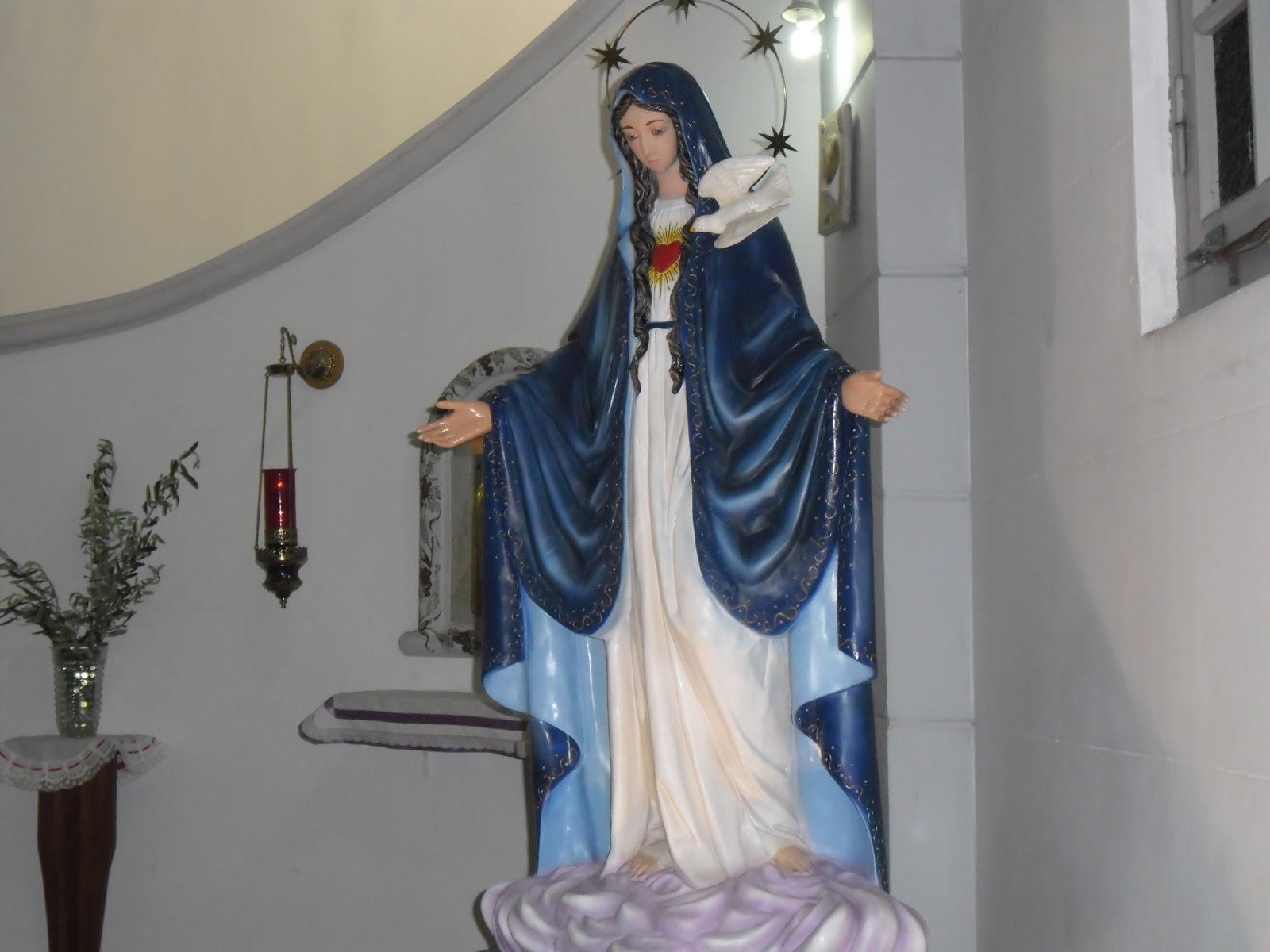 Santa María del Espíritu Santo, se aparece en Lanús, Argentina (7 nov)
