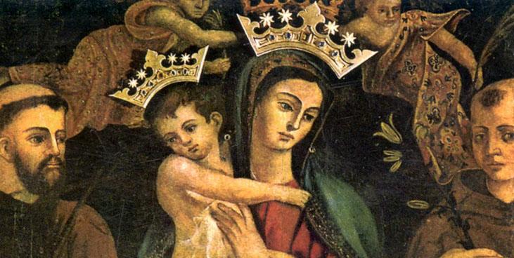 Nuestra Señora de la Consolación, Aparición a un Fraile, Italia (22 dic, 2º sáb sep)