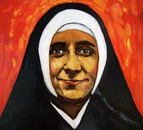 Josefa-Menendez--peinture---l-huile