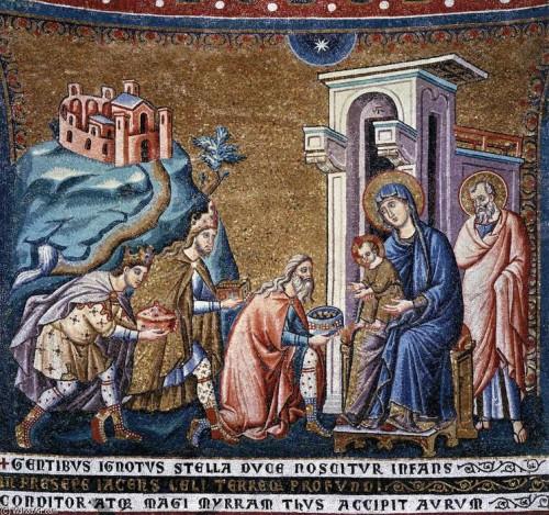 Pietro-Cavallini-adoracion de los reyes magos