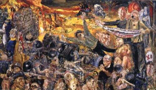 dibujo del infierno