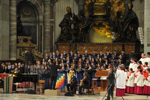 misa criolla vaticano 2014