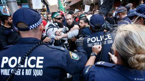 violencia musulmana en occidente