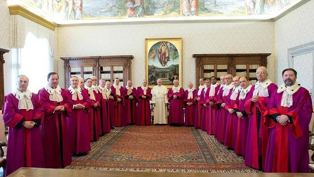 el-papa-ante-los-jueces-del-tribunal-de-la-rota-romana