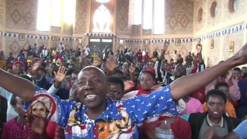 misa en servicio de kibeho