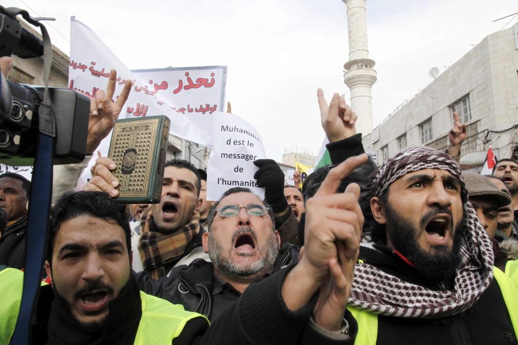 musulmanes contra charlie hebdo
