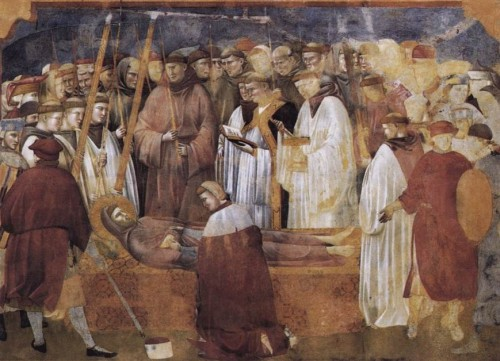 san jeronimo comprobando los estigmas de s francisco