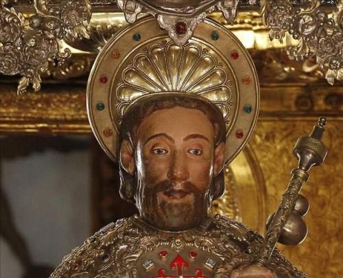 santiago apostol estatua