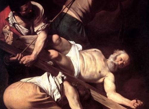 crucificción de san pedro