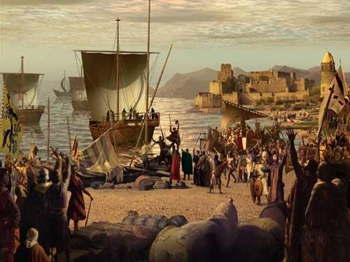 desembarco de cruzadas