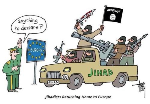 jihadistas en europa