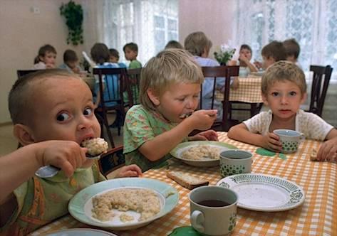 niños huerfanos