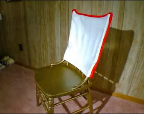 silla que jesus se sento cuando fue a ver a rhoda