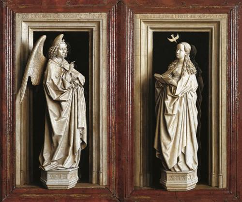 ANUNCIACIÓN Jan van Eyck GÓTICO