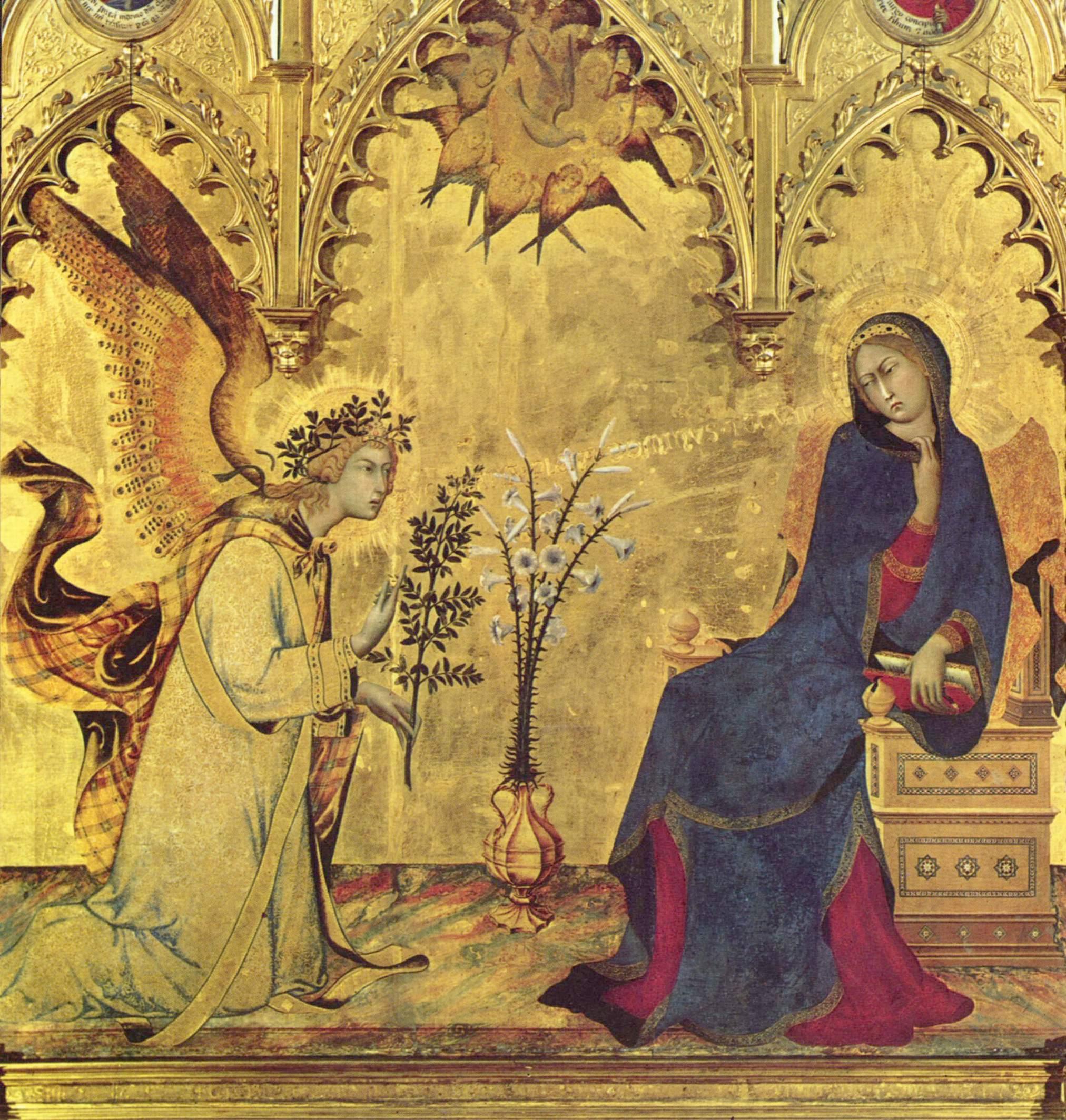 Anunciación del Ángel a María, la Encarnación de Jesús (25 mar)