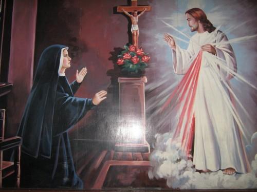 divina misericordia y faustina