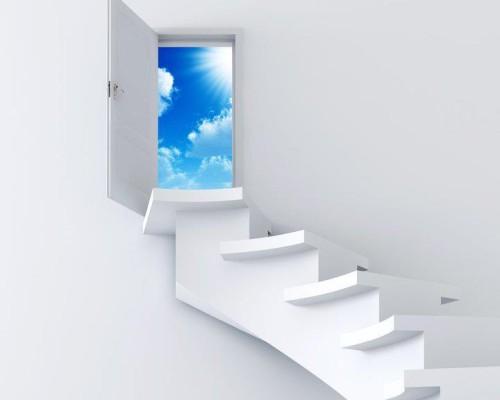 escalera que lleva al cielo
