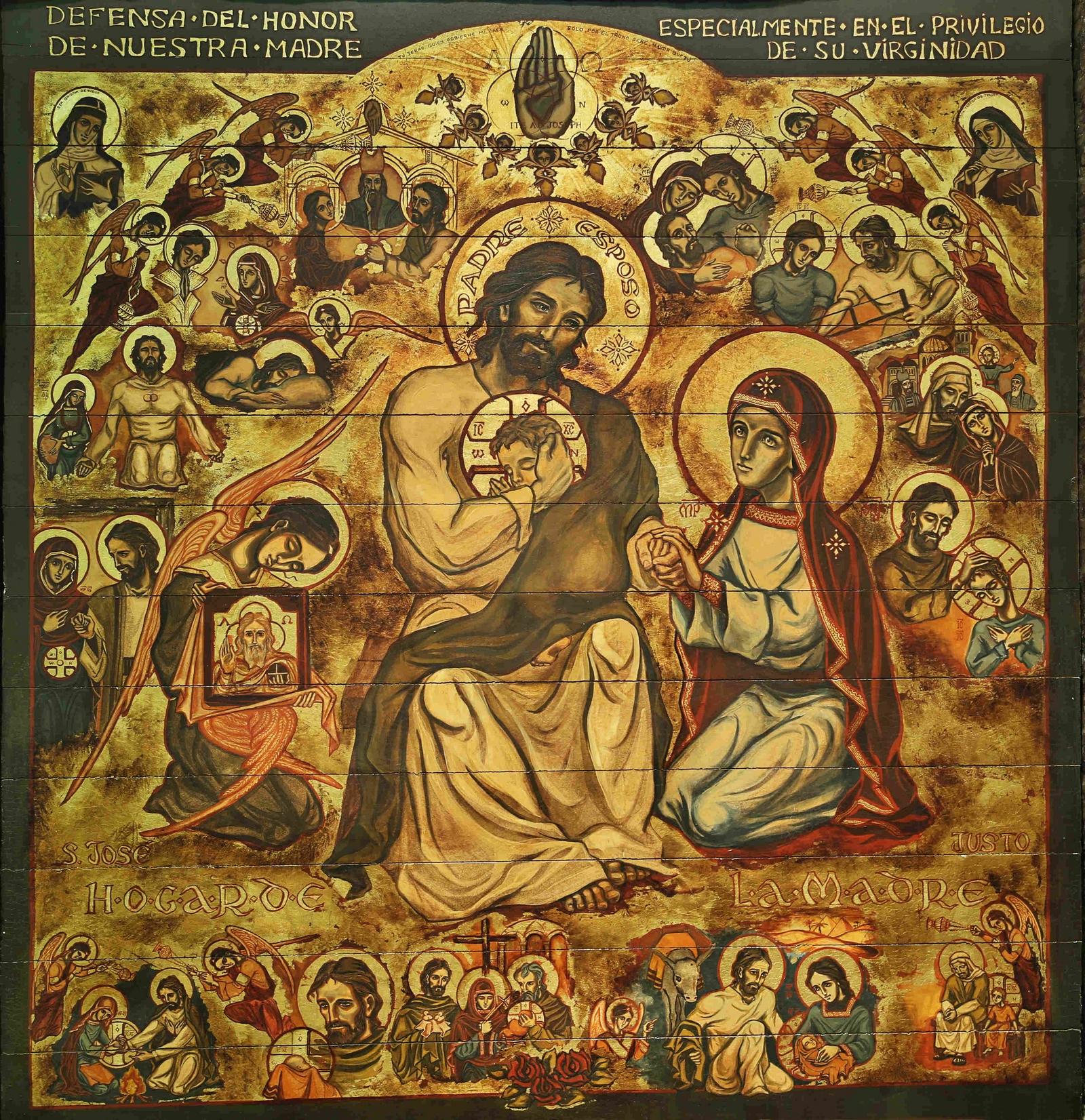 El Santo que se ha Aparecido más en la Tierra: Fiesta de San José, Universal (19 mar)