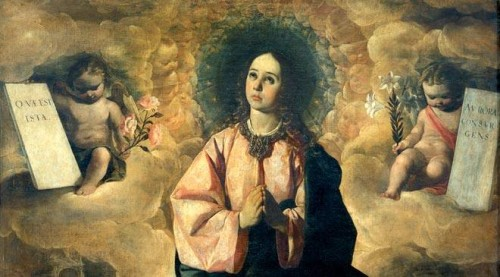 inmaculada zurbaran