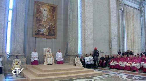 Lectura Bula Papa Francisco