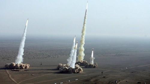 disparo de misiles