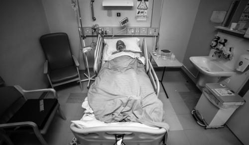 paciente en cama