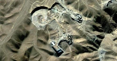 planta de enriquecimiento de uranio en iran