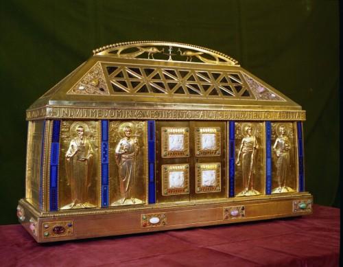 Relicario con las Reliquias de Santa Hildegarda de Bingen