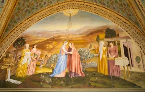 visitacion de maria a isabel